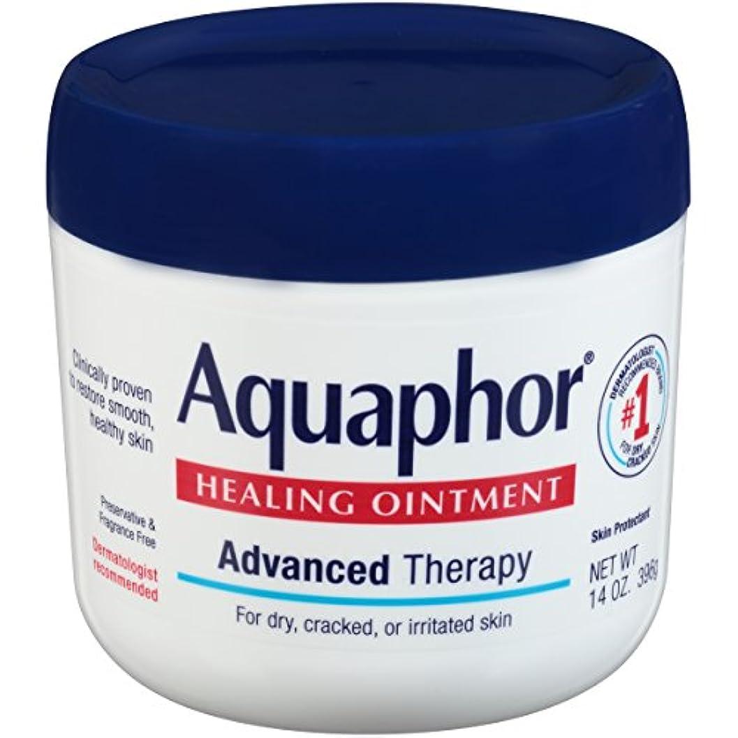過敏な手がかり囲む海外直送品Aquaphor Advanced Therapy Healing Ointment, 14 oz by Aquaphor