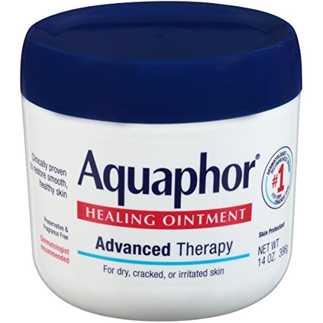 イースター蛇行一時解雇する海外直送品Aquaphor Advanced Therapy Healing Ointment, 14 oz by Aquaphor