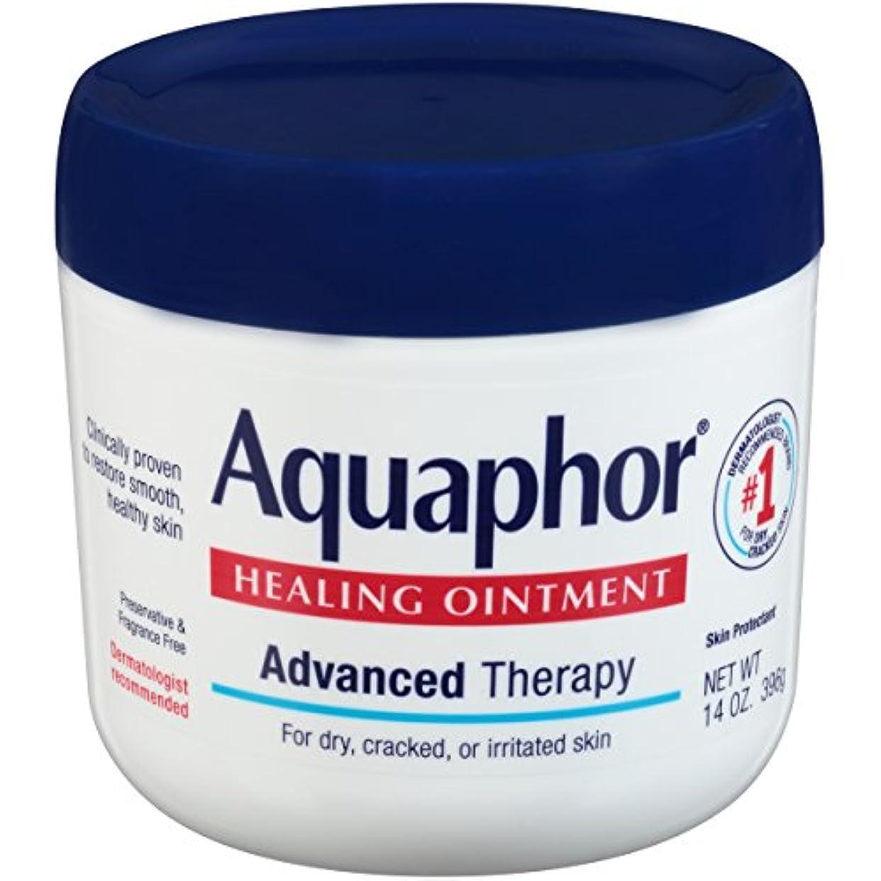 繊毛注入する驚き海外直送品Aquaphor Advanced Therapy Healing Ointment, 14 oz by Aquaphor