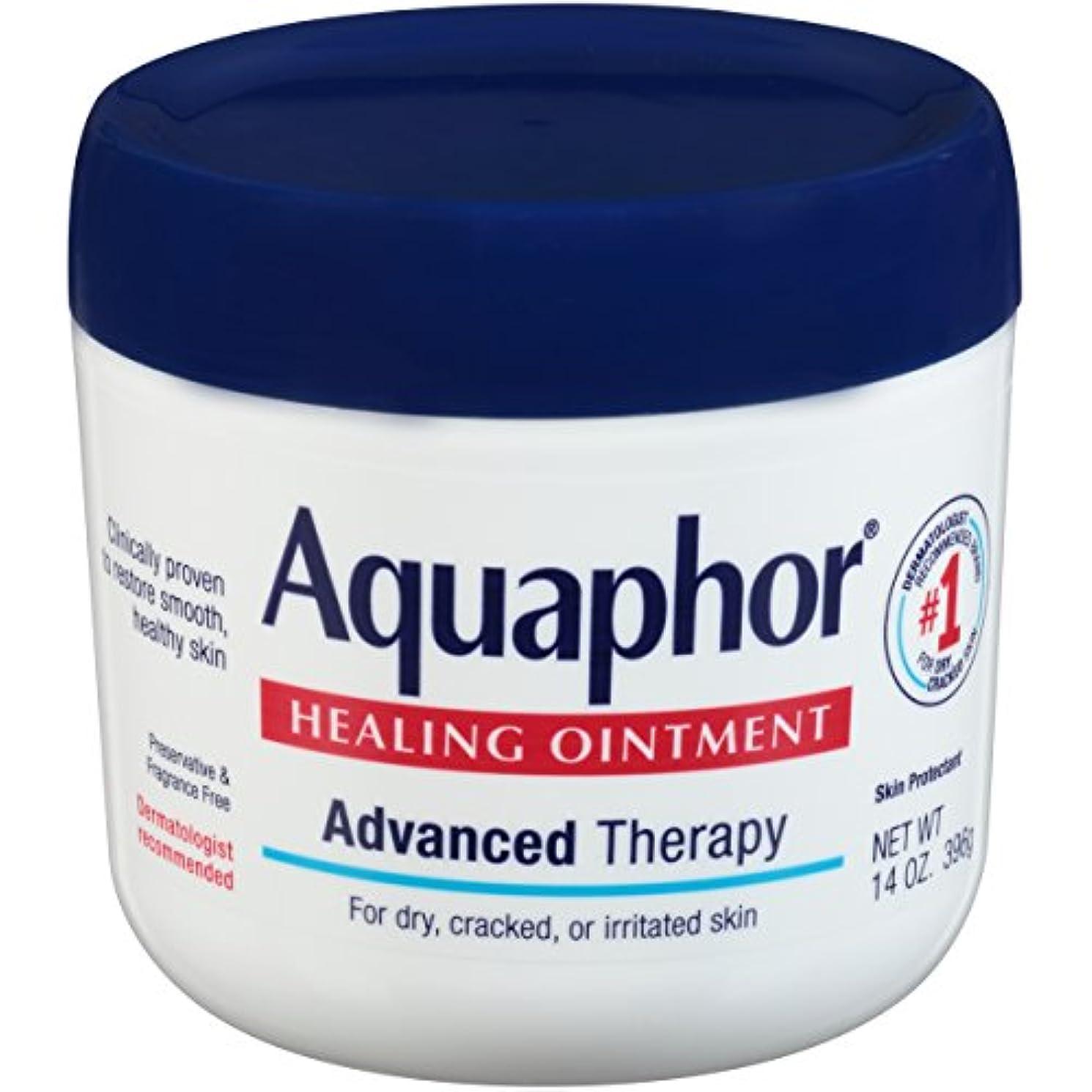 技術ゴムガム海外直送品Aquaphor Advanced Therapy Healing Ointment, 14 oz by Aquaphor