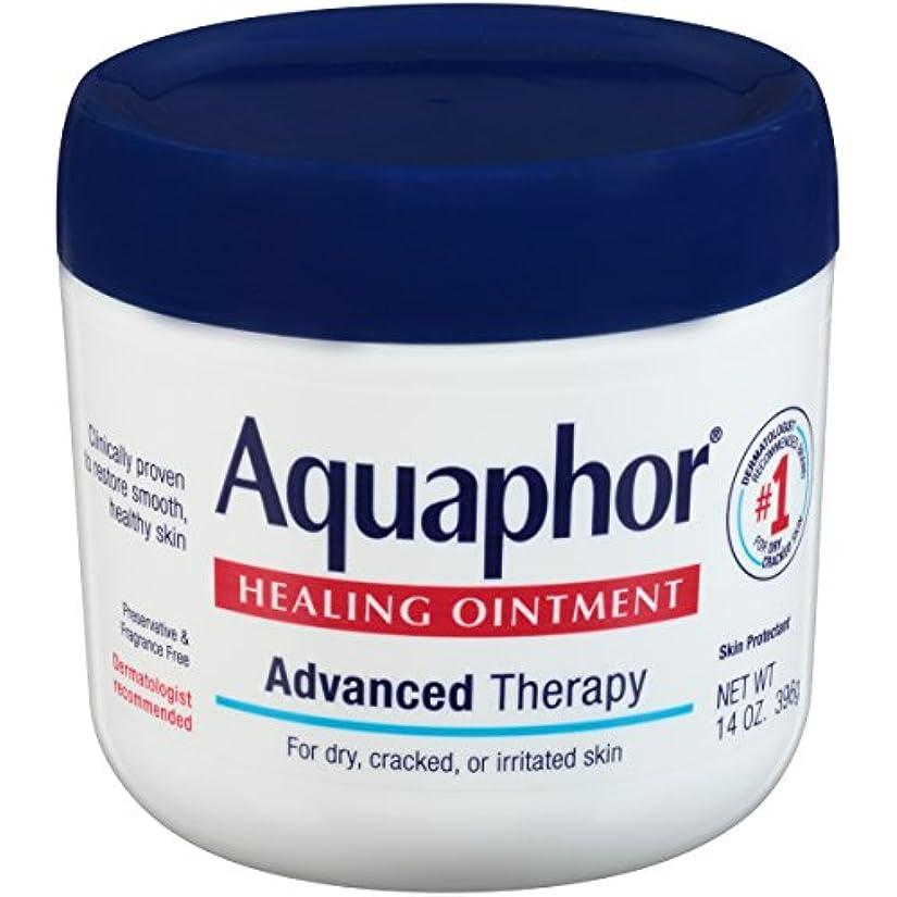 プラグ悪因子ラッドヤードキップリング海外直送品Aquaphor Advanced Therapy Healing Ointment, 14 oz by Aquaphor