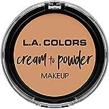 L.A. COLORS Cream To Powder Foundation - Natural (並行輸入品)