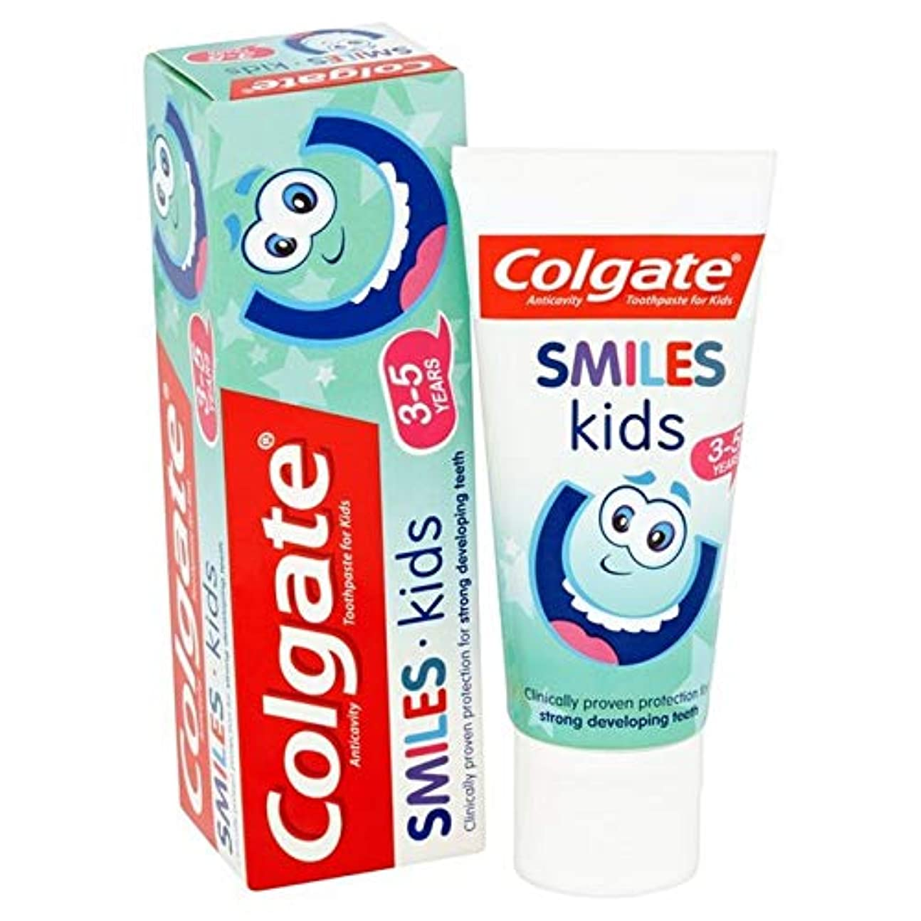 寄付する同志電気の[Colgate ] コルゲートは、子供の3~5年の歯磨き粉50ミリリットルを笑顔 - Colgate Smiles Kids 3-5 years Toothpaste 50ml [並行輸入品]