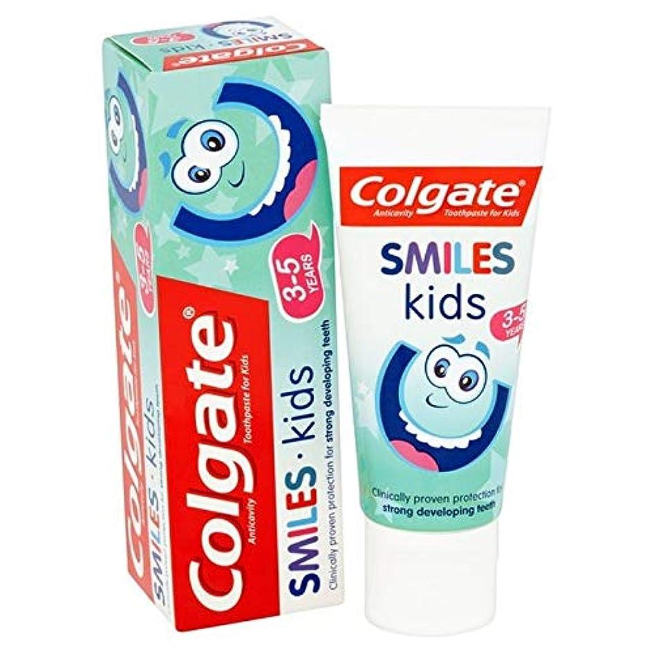 限りなく地球パプアニューギニア[Colgate ] コルゲートは、子供の3~5年の歯磨き粉50ミリリットルを笑顔 - Colgate Smiles Kids 3-5 years Toothpaste 50ml [並行輸入品]