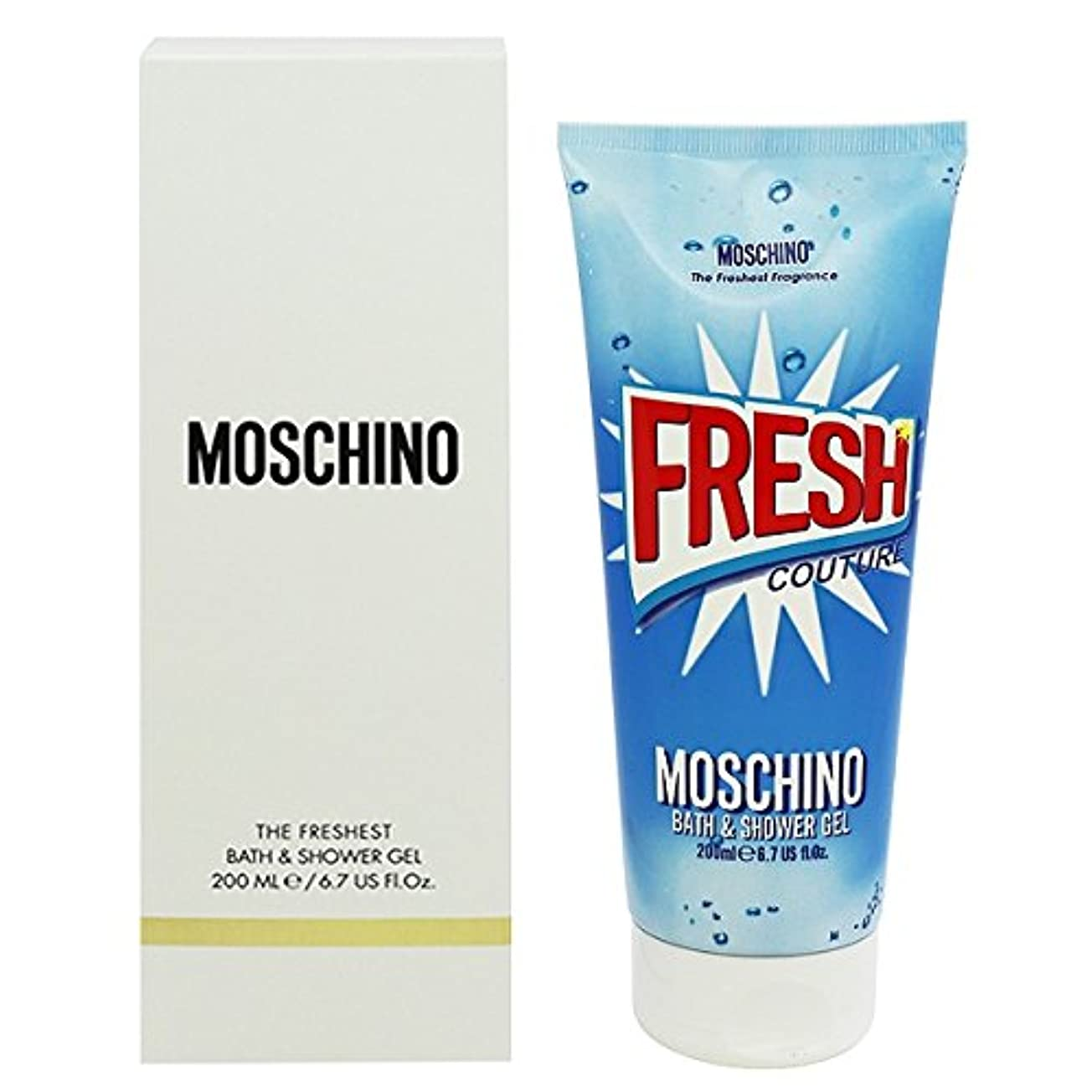 パリティ油提供【モスキーノ】フレッシュクチュール バス&シャワージェル 200ml [並行輸入品]