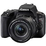 キヤノン CANON EOS Kiss X9(W)【EF-S18-55 IS STM レンズキット】(ブラック/デジタル一眼レフカメラ)