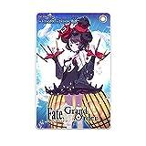 HAKUBA キャラモード スリムソフトパスケース Fate/Grand Order 葛飾北斎[第3段階] 日本製 定期入れ カードケース 裏面の窓つきポケットで出し入れ簡単 薄型コンパクト ボールチェーン付き