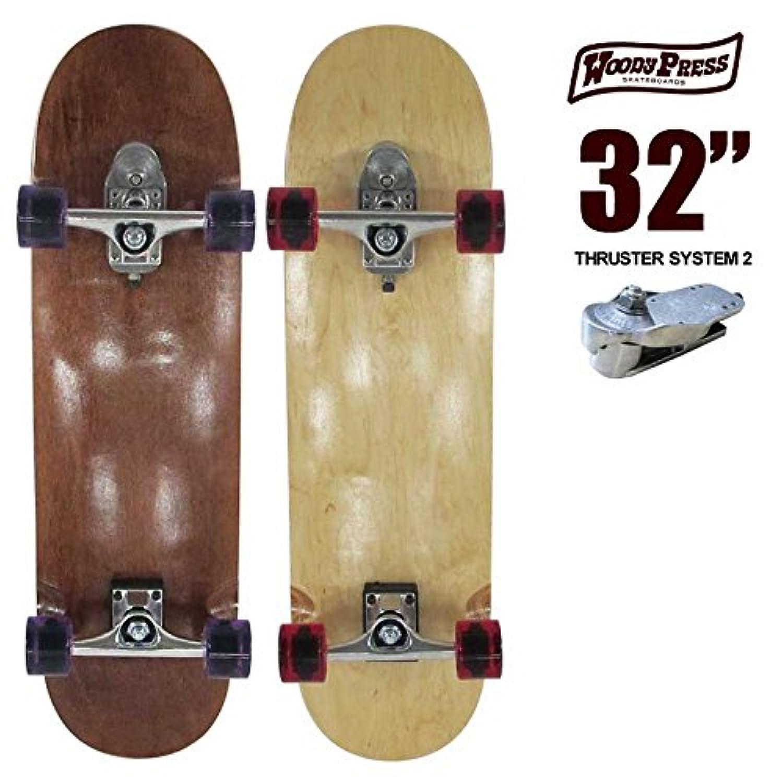 ウッディプレス スケートボード WOODY PRESS WOODY32インチ/ SK8 サーフスケート サーフィン