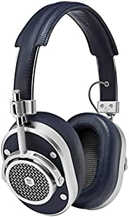 Master & Dynamic MH40 Over-Ear, Wired Headphones with Genuine Lambskin Ear Pads, Navy/Si