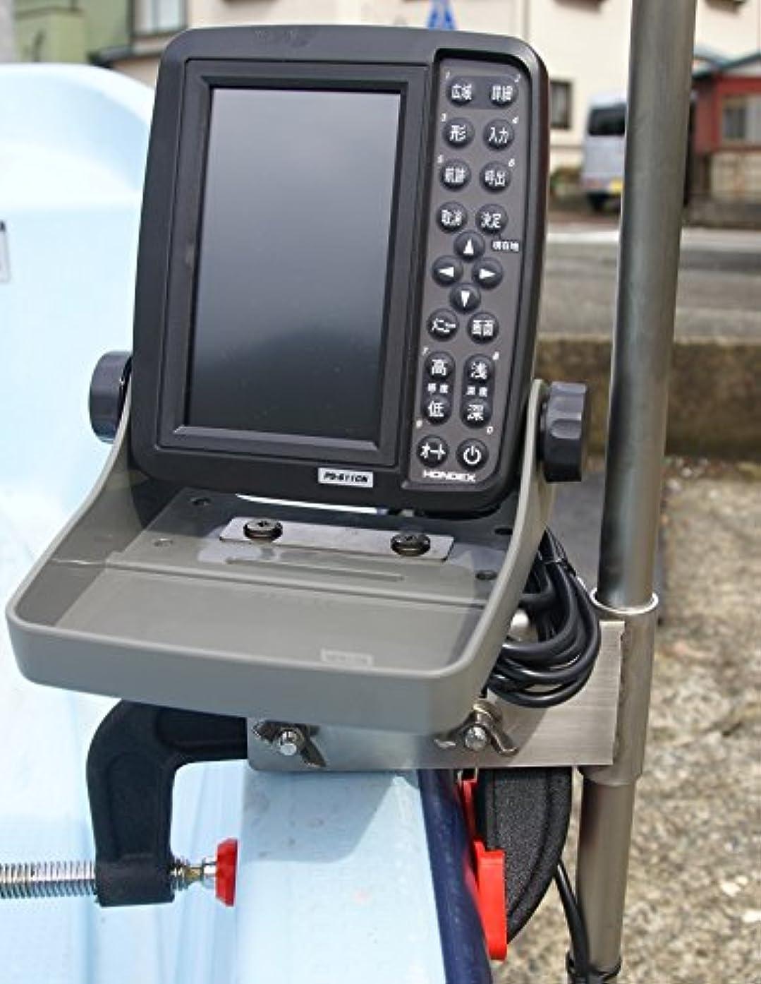 タック泥沼コーラスHONDEX GPS魚探 PS-611CN 万能パイプ エアーブラケット セット タイプT