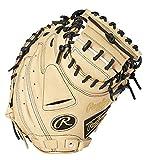 [ローリングス]野球 一般軟式グローブ 捕手 メンズ H TECHR2GカラーズGOLD GR1FHTC2AF CAM