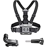 VVHOOY Adjustable Chest Mount Harness for Gopro Hero 7/6/5 Black Hero 4 Session AKASO EK7000 APEMAN FITFORT ODRVM Campark Crosstour Action Camera Accessories