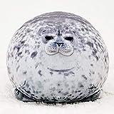 Mini Chubby Blob Seal Pillow Stuffed Cotton Plush Animal Toy Cute Ocean Pillow Pets, Sea Animal Pillow Blob Seal Pillow Cute