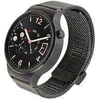 Huawei Watch Band, Lookatool Stainless Steel Mesh Replacement Watch Band For Huawei Watch 42mm