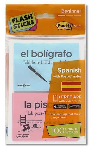 Flashsticks Spanish Beginner Starter Pack