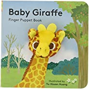Baby Giraffe: Finger Puppet Book: (Finger Puppet Book for Toddlers and Babies, Baby Books for First Year, Anim