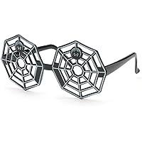ultimafio ( TM ) s-p-i-d-e-r Netハロウィンコスチュームマスク面白いメガネコスプレクリエイティブ大人写真ブース小道具フェスティバルパーティーSupplies Decoration