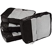 AmazonBasics 4-Piece Packing Cube Set - Large
