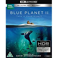 ブルー・プラネット II [4K UHD + Blu-ray リージョンフリー ※日本語無し](輸入版)