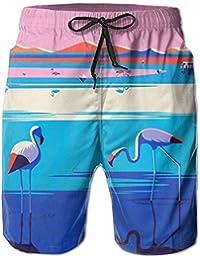 クラウンクレーン メンズ サーフパンツ 水陸両用 水着 海パン ビーチパンツ 短パン ショーツ ショートパンツ 大きいサイズ ハワイ風 アロハ 大人気 おしゃれ 通気 速乾