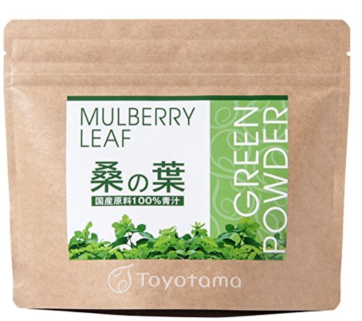 年齢ちなみにロードされたトヨタマ(TOYOTAMA) 国産桑の葉100%青汁 90g (約30回分) 無添加 ピュアパウダー 1096312