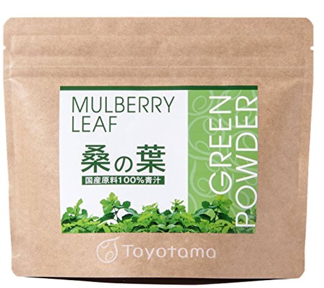 フェザーくびれた美的トヨタマ(TOYOTAMA) 国産桑の葉100%青汁 90g (約30回分) 無添加 ピュアパウダー 1096312