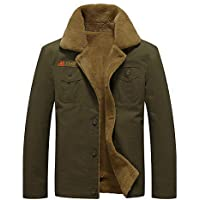 Howriis Men's Casual Wear Cotton Military Jackets