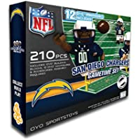 NFL San Diego Chargers Oyo Nflゲーム時間フィールドセット
