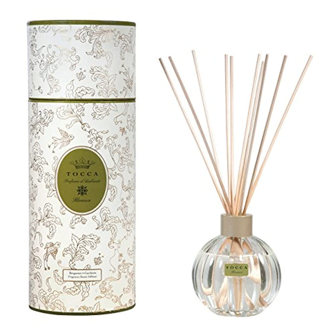 巡礼者スイス人甘美なトッカ(TOCCA) リードディフューザー フローレンスの香り 175ml 3~4ヶ月持続(芳香剤 ルームフレグランス ガーデニアとベルガモットが誘うように溶け合うどこまでも上品なフローラルの香り)