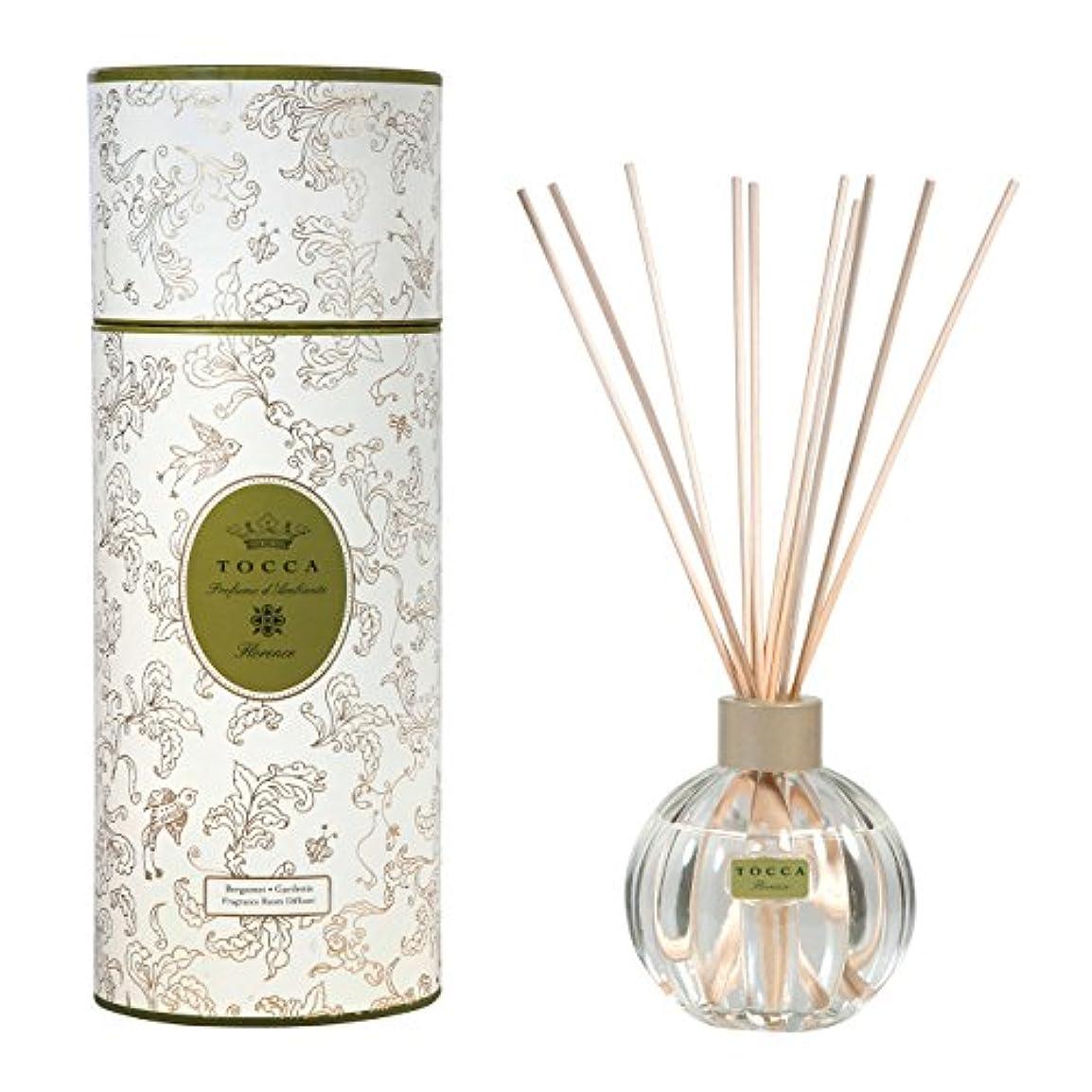 然としたバトル顕著トッカ(TOCCA) リードディフューザー フローレンスの香り 175ml 3~4ヶ月持続(芳香剤 ルームフレグランス ガーデニアとベルガモットが誘うように溶け合うどこまでも上品なフローラルの香り)