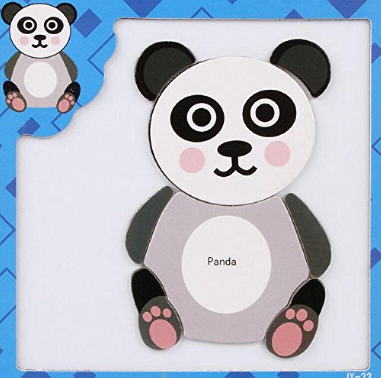 HuaQingPiJu-JP 創造的な教育的な磁気パズルアーリーラーニング番号の形の色の動物のおもちゃキッズ(パンダ)のための素晴らしいギフト