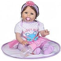 SanyDoll Rebornベビー人形ソフトSilicone 22インチ55 cm磁気Lovely Lifelike Cute Lovely Baby b0763l7fqv