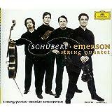 Schubert: The Late String Quartets By Emerson String Quartet, Mstislav Rostropovich and Franz Schubert (Jun 15, 2004)