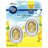 Ambi Pur Bathroom Fresh Air Freshener, Zesty Lemon, 6ml (Pack of 2)