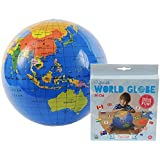 Tiger Tribe Inflatable World Globe 30 cm