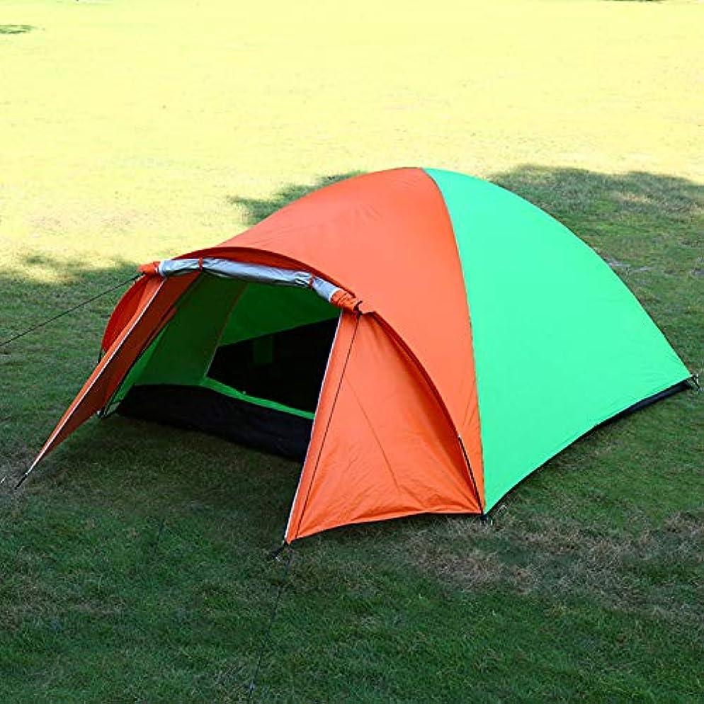 道翻訳上昇屋外のキャンプテント屋外の4-6人のスーツ二重層の屋外のキャンプテント便利で快適