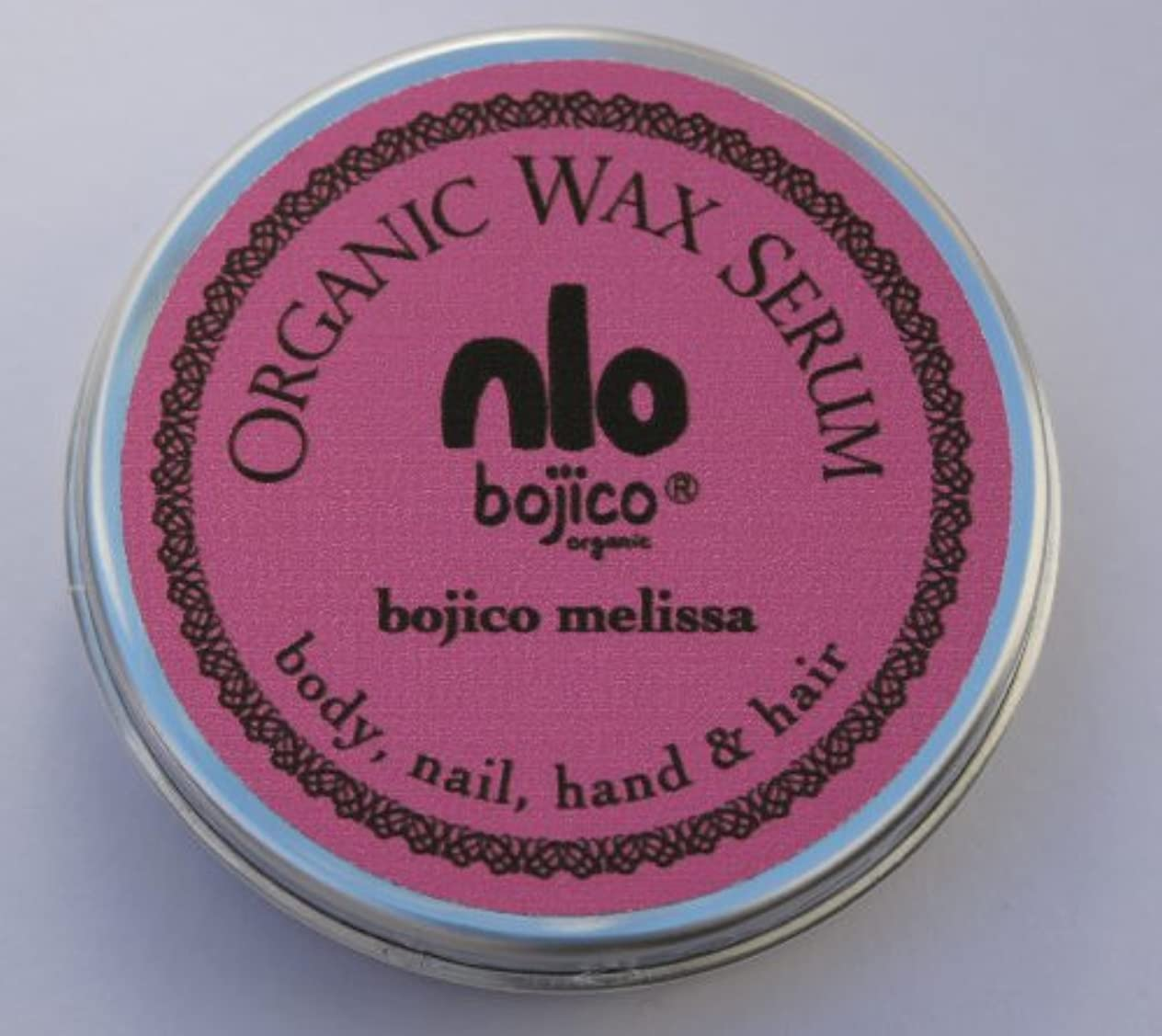 スペア応答黒bojico オーガニック ワックス セラム<メリッサ> Organic Wax Serum 18g