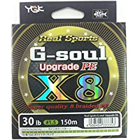 よつあみ(YGK) ライン G-soul X8 UPGRADE150m 30Lb(1.5)