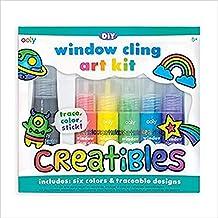 Creatibles DIY Window Cling Art Kit - 7 Piece Set