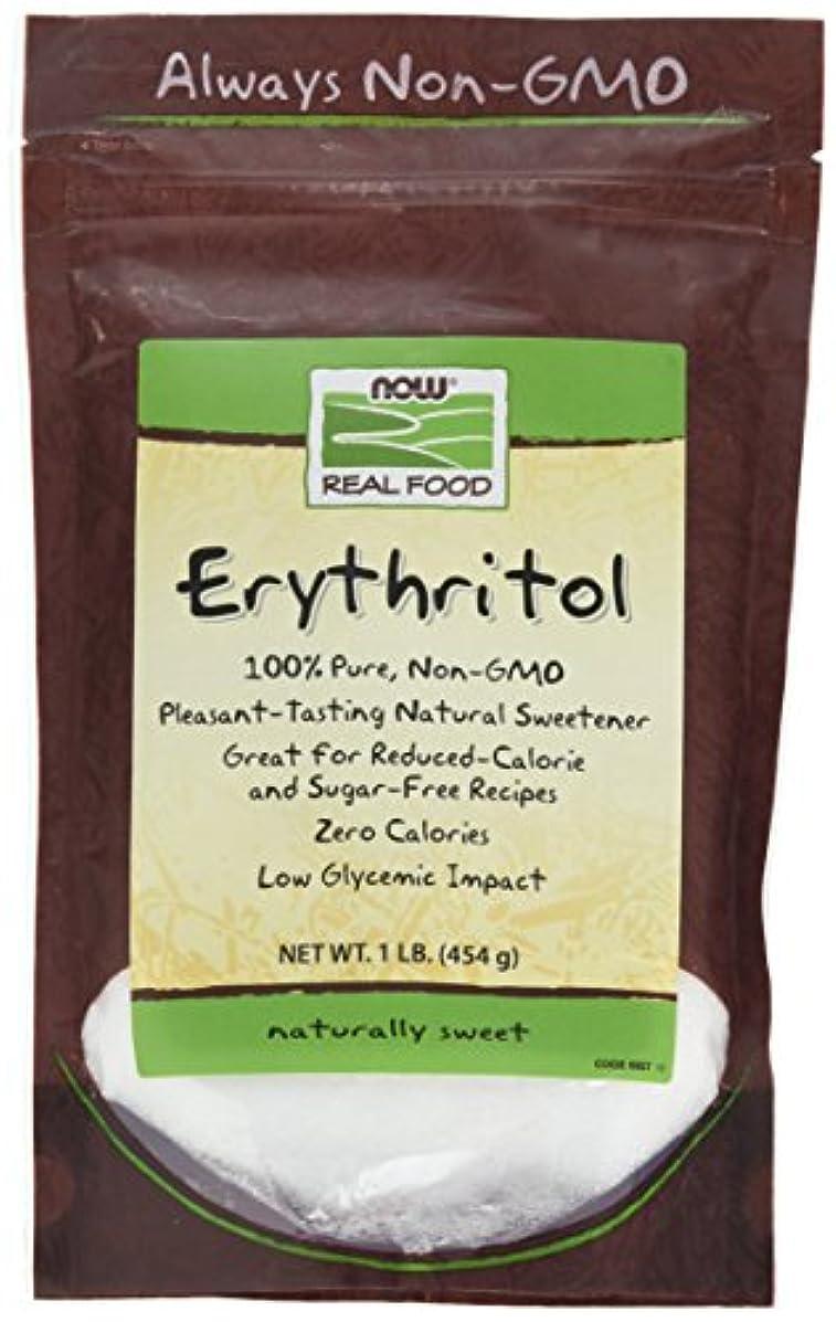半球パールすべき[海外直送品] ナウフーズ  - エリスリトール天然甘味料 - 1 lb。
