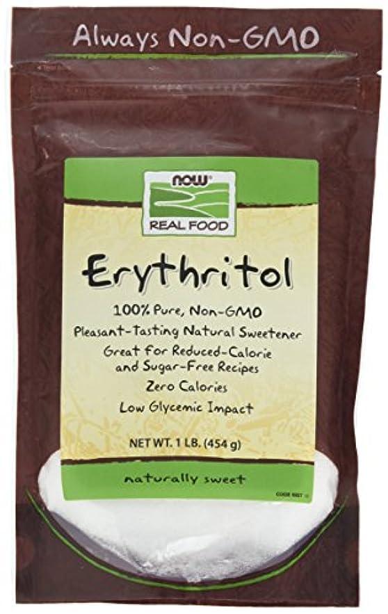原因更新する振りかける[海外直送品] ナウフーズ  - エリスリトール天然甘味料 - 1 lb。