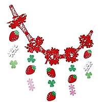イチゴ装飾 いちごネットガーランド L180cm 14523