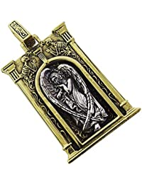 0001PPP/goodvibrations【GV】天使の門のペンダントSV+B/シルバー925?銀【メイン】ブランド真鍮