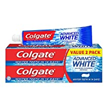 Colgate Advanced Whitening Toothpaste, 160g (Pack of 2)
