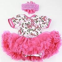 Reborn人形Supplies Outfit Clothes for 22インチRebornsベビーガール人形アクセサリー