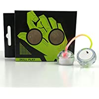 Begleri thumb yo-yo ハンドヨーヨー 指ヨーヨー Liwerb ストレス解消 斬新な指先おもちゃ fidget toy LEDライト 海外とYoutubeで大人気! (ホワイト)