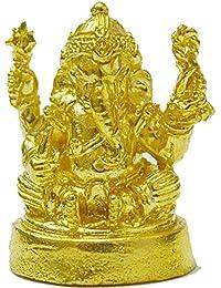 ラッキージュエリーギフトMini Statue Ganesh Lord of Success Life Hindu Godペンダント障害物プレゼント