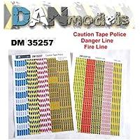 DAN MODELS ディオラマ 注意 テープ 警察/危険/ファイアーライン 1/35 35257