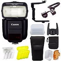 Canonスピードライト430ex iii-rt onカメラフラッシュW/バウンドハードドームDiffuser & Accessoryバンドル