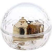 Baosity 音楽ボックス オルゴール 亜鉛合金 キュービックボール 誕生日 装飾 ギフト 多種類選べ - 美しく青きドナウ